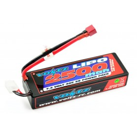 Batería LiPO Voltz 7,4V 2500mAh 40C Hardcase (T-Dean)