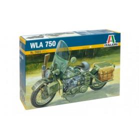 Maqueta Moto Militar WLA 750 1/9