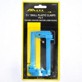 Kit 2 Sargentos de plástico para modelismo y RC