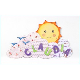 Cartel Sol Puerta Infantil