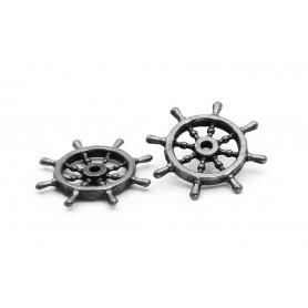 Rueda timón 24mm para modelismo naval - occre