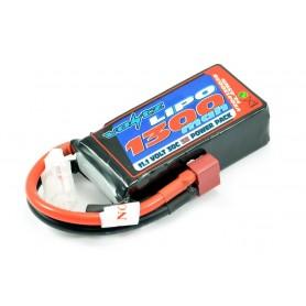 Batería LiPO Voltz 11,1V-1300mAh 30C Hardcase (T-Dean)