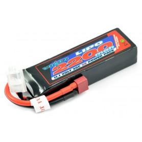Batería LiPO Voltz 11,1V-2200mAh 30C Hardcase (T-Dean)