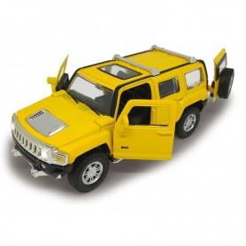 Coche en miniatura Jamara Hummer H3 1/32 (amarillo)