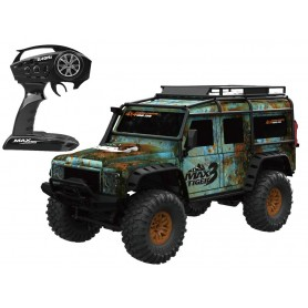 Coche RC Crawler Land Rover DEFENDER D90 1/10 20Km/h (Brushed)