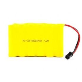 Batería NI-Cd 7,2V 500mAh (JST-SM)