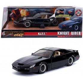 Coche en miniatura K.I.T.T El coche Fantástico 1/24 (Knight Rider) con luces