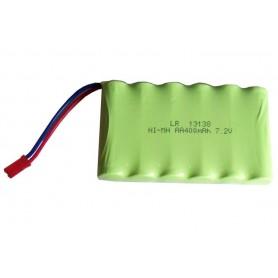 Batería Ni-CD 7,2V-400mAh (JST BEC) para excavadora Huina 1550,1572 y 1573