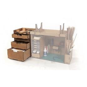 Módulo de cajones para el mueble taller Occre