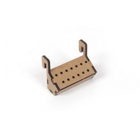 Soporte brocas para el mueble taller Occre