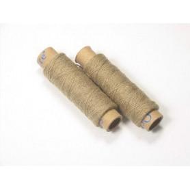 Kit 2 bobinas de hilo de algodón crudo Occre para modelismo naval