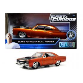 Coche en miniatura DOM'S Plymouth Road Runner Fast&Furious 1/32
