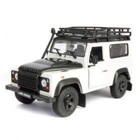 Coche en miniatura Land Rover Defender Welly 1/24