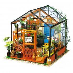 Maqueta madera DIY Kathy's Flower House Robotime 1/24