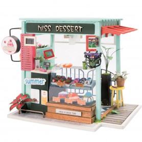 Maqueta madera DIY Dessert Shop Robotime 1/24