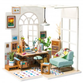 Maqueta madera DIY SOHO Time Home Office Robotime 1/24