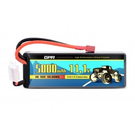 Batería LiPO 11,1V-5000mAh 50C Hardcase SC (T-Dean)