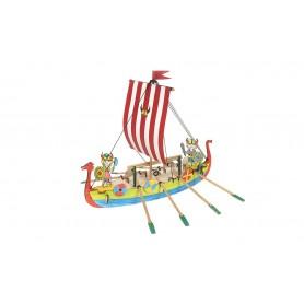 Maqueta para niños Barco Viking Occre Junior