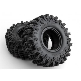 Kit 2 neumáticos GMADE 1.9'' MT 1904 para coches RC Crawlers OFF-ROAD 1/10