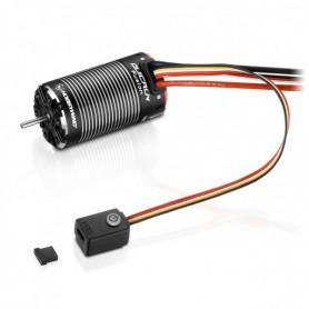 Motor Variador Combo Hobbywing Quick Fusion 1800KV para Crawlers