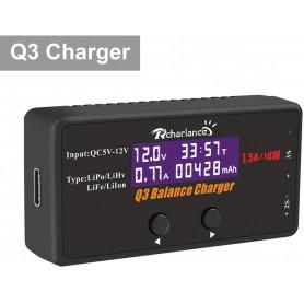 Cargador Digital Q3 Baterías Lipo 2S y 3S 1,5A-18W (USB)