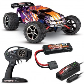 Coche RC Monster Truck TRAXXAS E-REVO VXL 1/16 50Km/h (Brushless)