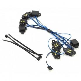 Kit luces LED de roca TRAXXAS TRX-4 y TRX-6 (requiere TRX8028)