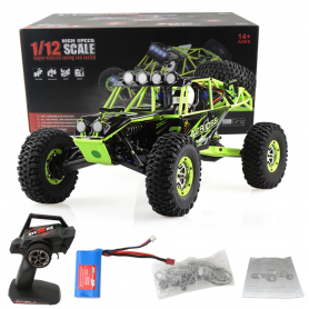 Coche RC Crawler Wltoys CROSS COUNTRY 1/12 50Km/h (Brushed)