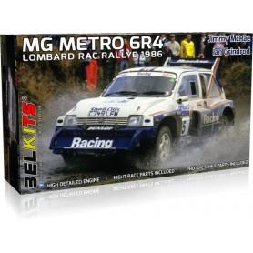 Maqueta BELKITS Coche MG Metro 6R4 Lombard RAC Rally 1986 1/24