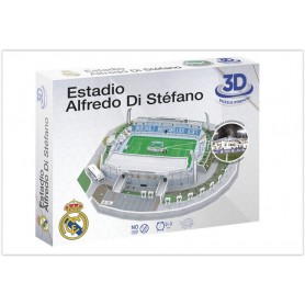 Puzzle 3D Estadio Alfredo Di Stéfano FC Real Madrid