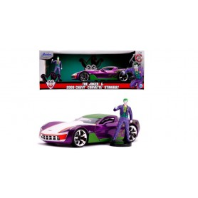 Coche en miniatura Joker (Batman) Chevy Corvette 2009 1/24