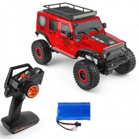 Coche RC Crawler Wltoys JEEP WRANGLER 1/10 15Km/h (Brushed)