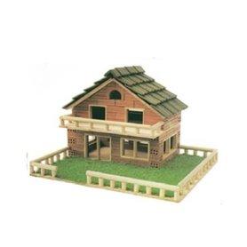 Casa de ladrillo modelo 117 Keranova
