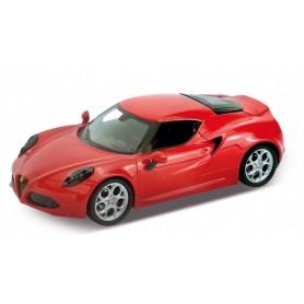 Coche en Miniatura Alfa Romeo 4C Welly 1/24
