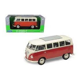 Furgoneta en miniatura Welly Volkswagen T1 BUS 1963 1/24