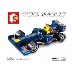 Bloques de Construcción Coche Fórmula 1 Techinque SEMBO Block