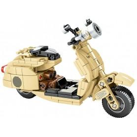Bloques de Construcción Moto Vespa SEMBO Block (256 pz)