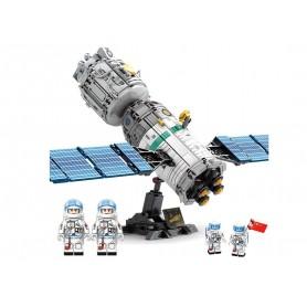Bloques de Construcción Satélite Espacial SEMBO Block (804 pz)