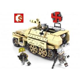 Bloques de Construcción Tanque SD. KFZ 251 SEMBO Block (355 pz)