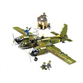 Bloques de Construcción Avión JU 88 SEMBO Block (559 pz)