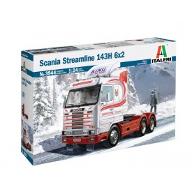 Maqueta Camión Italeri SCANIA Streamline 143H 6X2 1/24