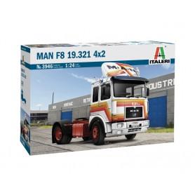 Maqueta Camión Italeri MAN F8 19.321 4x2 1/24