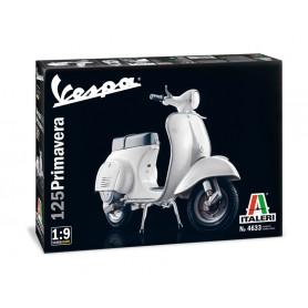 Maqueta Moto Italeri VESPA 125 Primavera 1/9