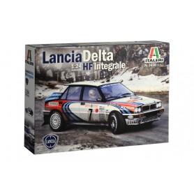 Maqueta Coche Italeri Lancia Delta Integral HF 1/24