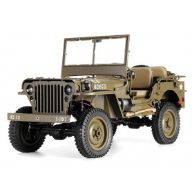 Coche RC Crawler ROC HOBBY Jeep Willys 1941 1/6 (Brushed)