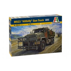 Maqueta de Camión Italeri HILLBILLY GUN TRUCK 1/35
