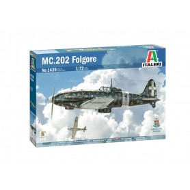 Maqueta Avión Italeri Aircraft FOLGORE MC.202 1/72
