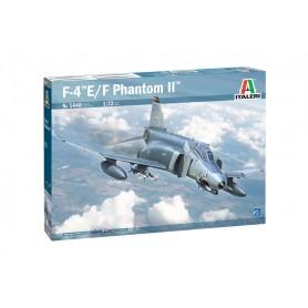 Maqueta Avión Italeri Aircraft F-4E/F PHANTOM II 1/72