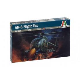 Maqueta Helicóptero Italeri AH-6 NIGHT FOX 1/72