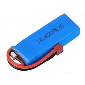 Batería Lipo 7,4V 2200mAh 30C (T-Dean) para 124019, 124018, 124017, 124016 y 144001